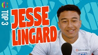 Jesse Lingard reveals England Squad's best FIFA players!