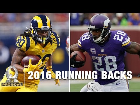 2016 Pro Bowl Running Backs | NFL