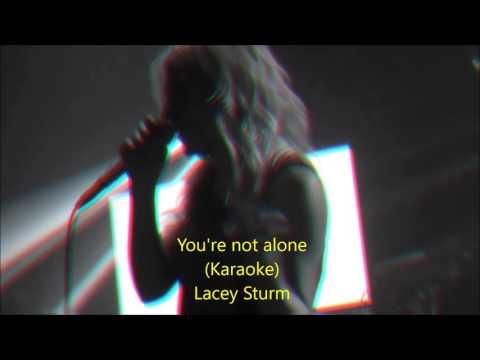 You're not alone - Lacey Sturm (Karaoke)