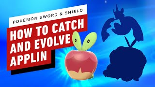 How to Evolve Applin to Appletun or Flapple - Pokemon Sword and Shield