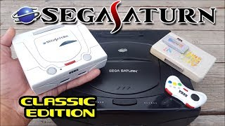 Mini Sega Saturn Xu4 Classic Edition