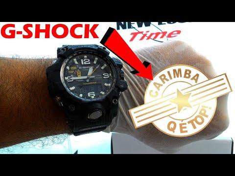 daaa601f16af Relógio CASIO G-Shock Mudmaster GWG-1000-1A3DR New Look Time Relógios -  YouTube