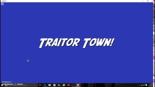 Traitor Town Roblox map
