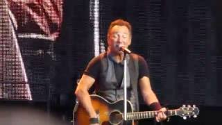 Bruce Springsteen - Waitin' On A Sunny Day live Berlin 19.06.16 Olympiastadion
