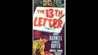 The 13th Letter by Alex North (1951)