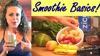 Worst Instant Smoothie Mixes & How To Make A Healthy Smoothie Basics For Breakfast Or Snacks