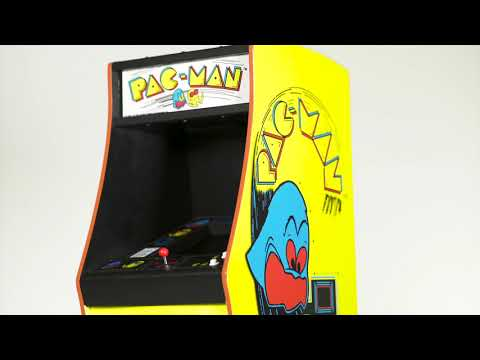 Pac-Man Quarter Size Arcade Cabinet - Video