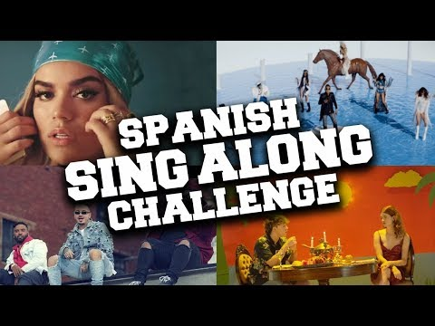 Try Not to Sing Along or Dance Challenge - Best Spanish Songs