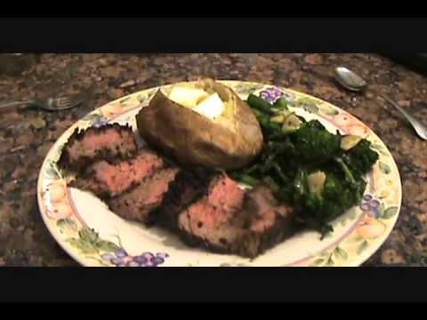 PORCINI RUBBED STEAK TIPS - WITH SUNDRIED TOMATO BASIL PESTO SAUCE