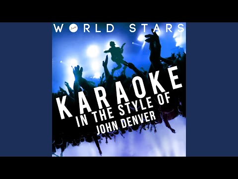 Sunshine on My Shoulders (Karaoke Version)