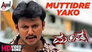 "Mandya|""Muttidre Yako""| Feat.Darshan,Rakshita | New Kannada"