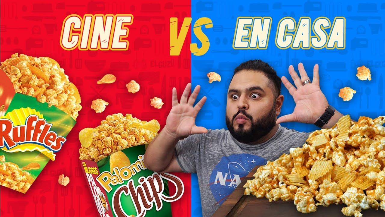 ¡HICE PALOMITAS DE CINE! | EL GUZII
