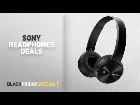 Sony bluetooth headphones amazon black friday