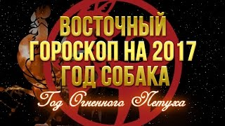 Восточный гороскоп на 2017 СОБАКА