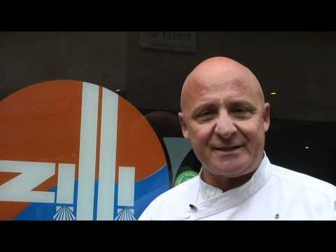 Aldo Zilli at Zilli Fish Restaurant