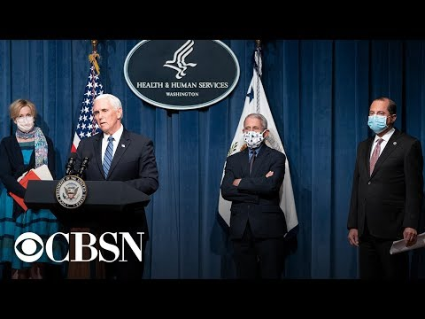 Watch live: Vice President Pence and Coronavirus Task Force hold briefing