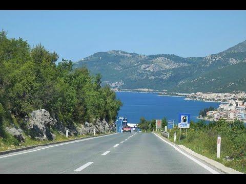 Timelapse - Lovely Drive Along Croatia's Grand Coastline