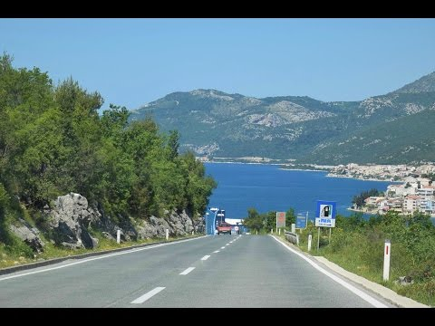 Timelapse - Lovely Drive Along Croatia's Grand Coastline