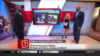 Melanie Collins from ESPN SportsNation... oh, and Michelle Beadle
