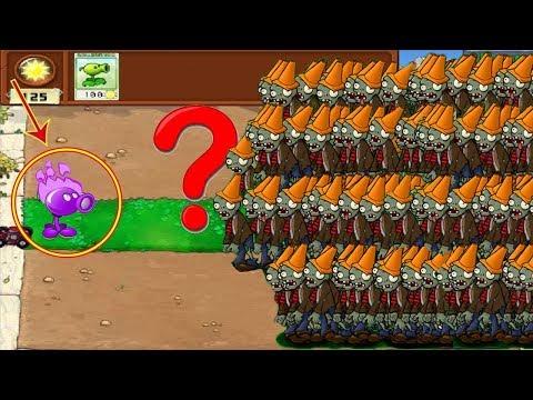 Plants vs Zombies Hak - Cactus vs 9999 Zombie vs Balloon Zombie