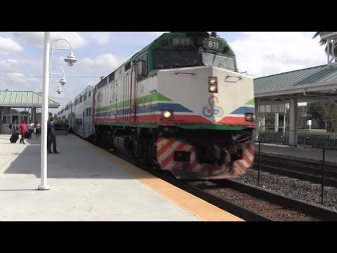 Tri-Rail P619: Onboard From Fort Lauderdale Airport To Miami!