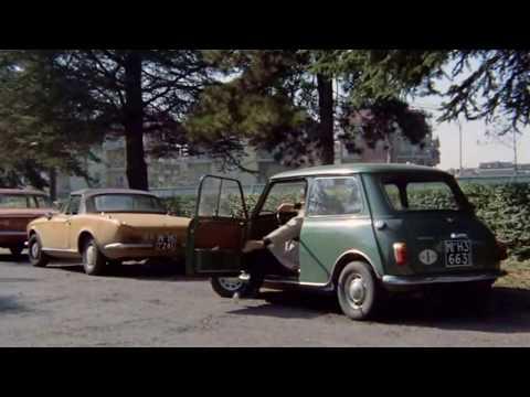 Gastone Moschin in Caliber  9 - Mini Innocenti verde Italian classic car by Film&clips