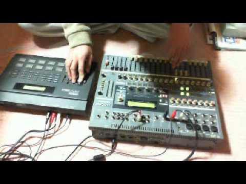 TASCAM TM-D1000+YAMAHA RY30 Practice
