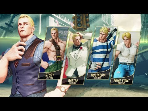 Street Fighter 5 S Latest Character Is Metro City Mayor Cody Vg247