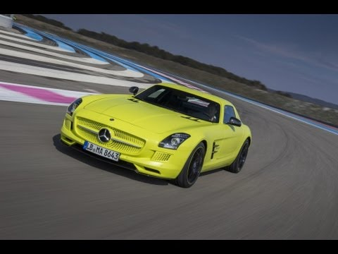 Mercedes Benz Sls Amg Electric Drive First