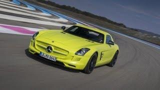 Mercedes SLS AMG Electric Drive 2012 Videos