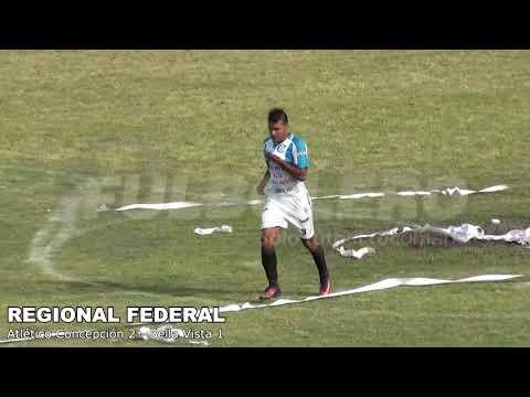 REGIONAL FEDERAL: Atlético Concepción volvió al plano nacional con un triunfo frente a Bella Vista