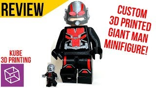 World's Biggest GIANT ANT-MAN 3D Printed Minfigure!