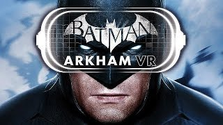 BATMAN Arkham VR Trailer + PSVR Reactions (Gamescom 2016)