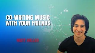 Matt Miller müzik yaratıcıları birlikte güzel melodiler sağlamak için AI bir başlangıç oluşturur