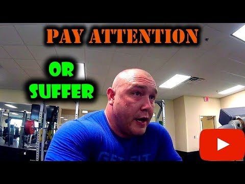 Pay Attention or Suffer | Back to Training
