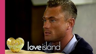Tension Mounts As A New Guy Arrives - Love Island 2016