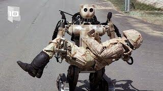 10 Robots militares más avanzados del mundo