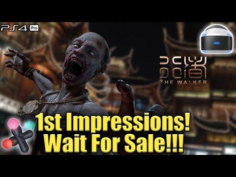 The Walker (PSVR/Pro) Live! 1st Impressions! Wait For Sale!!!