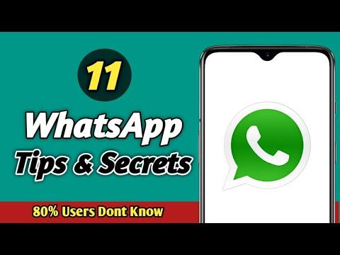 11 WhatsApp Secret
