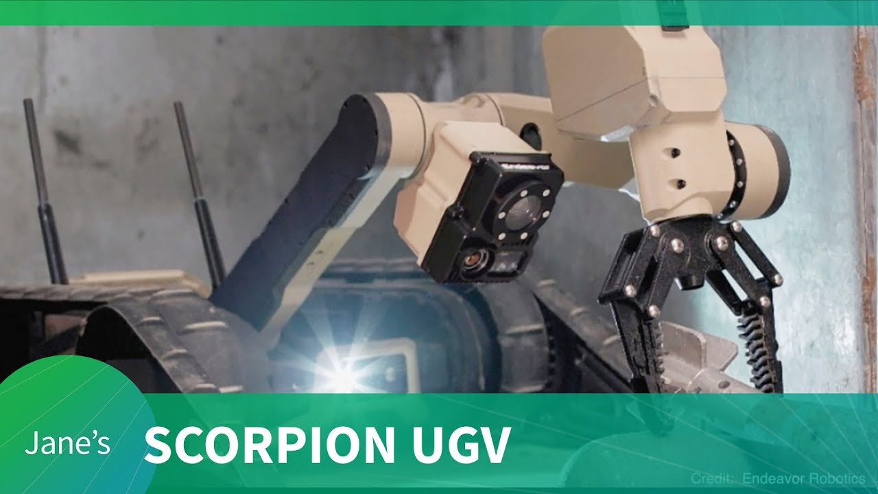 Scorpion unmanned ground vehicle (UGV)