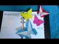 Origami : 📖 📑 Marque-page 🦋 Papillon (Grzegorz Bubniak)