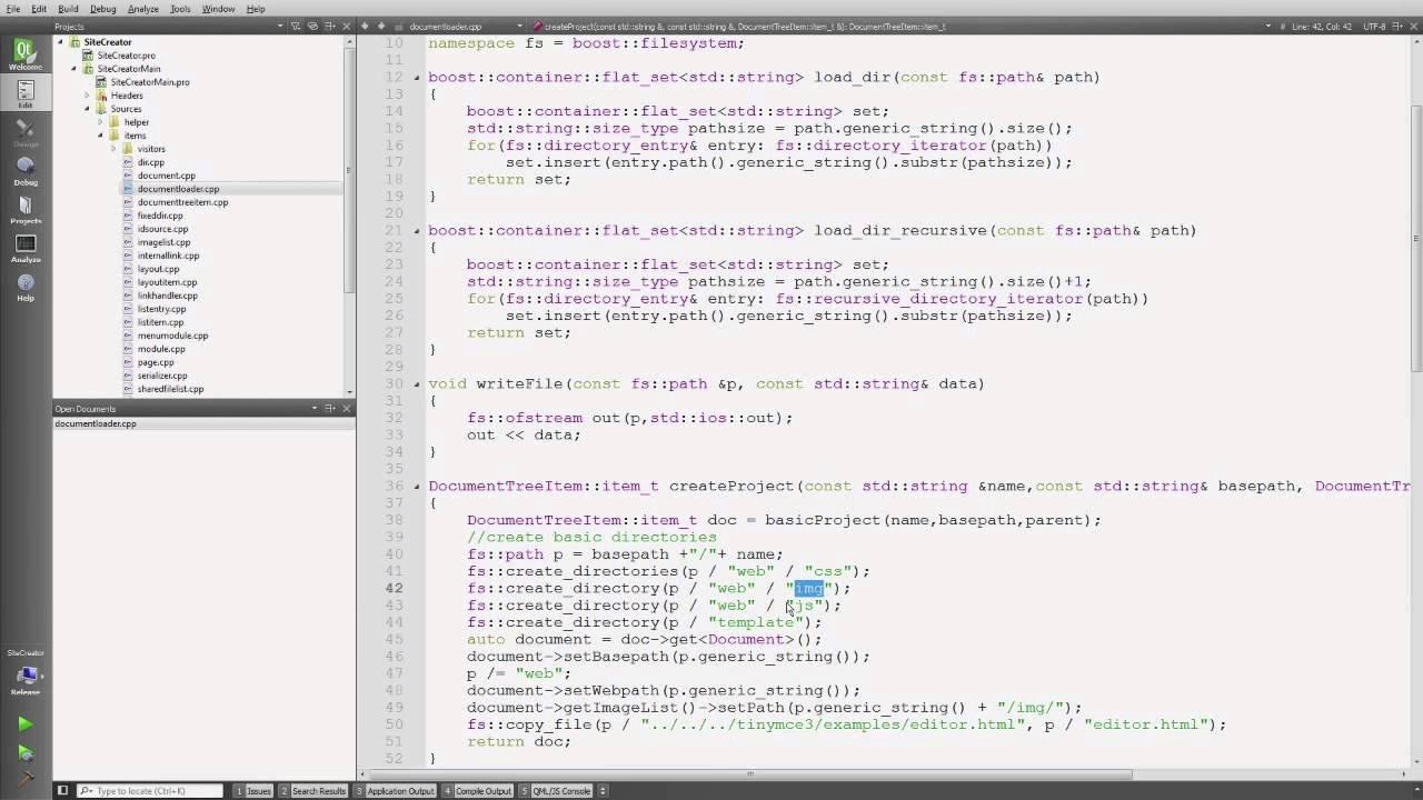 Handling files - using boost::filesystem