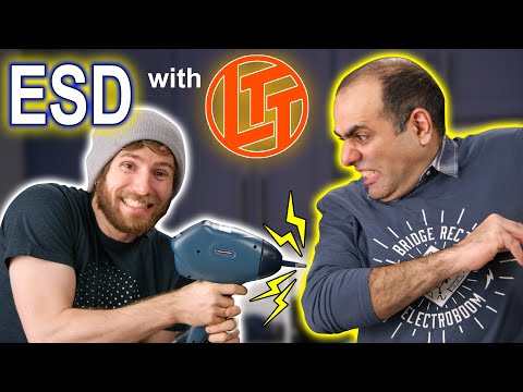 What It Takes to Break a RAM with ESD (ft. Linus Tech Tips)