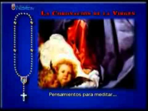 Recemos el Rosario Miercoles y Domingos Misterios Gloriosos  completo