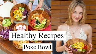 Simple Model Recipes | Healthy, Quick, & Tasty Poke Bowl | Sanne Vloet