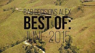 Best of Longboarding: June 2015 - Alex Bad Decisions Ameen - Skate[Slate].TV