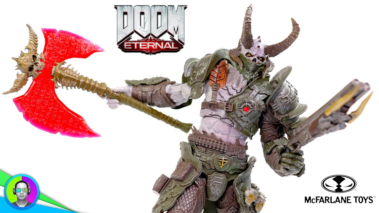 Doom Marauder Doom Eternal Figure Review Mcfarlane Youtube