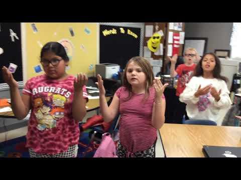 West Fannin Elementary School's 2020 Veterans Day Tribute