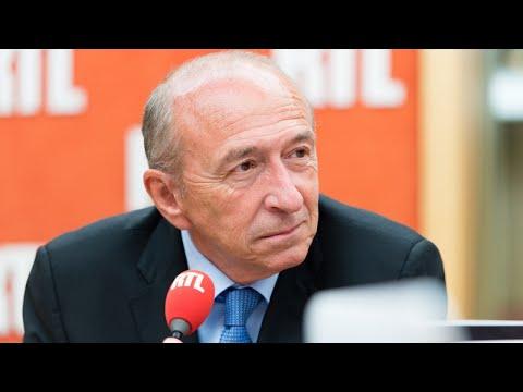 Gérard Collomb était l'invité de RTL le 18 juillet 2017