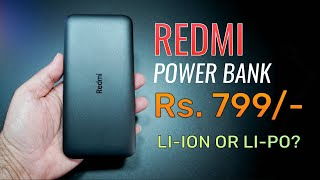 Redmi 10000 mAh Power Bank Rs. 799, Which one to buy Lithium ion or Lithium polymer?